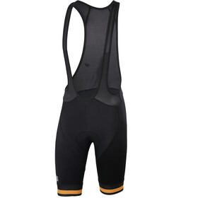 Sportful Bodyfit Team Classic Bib Shorts Heren, black gold